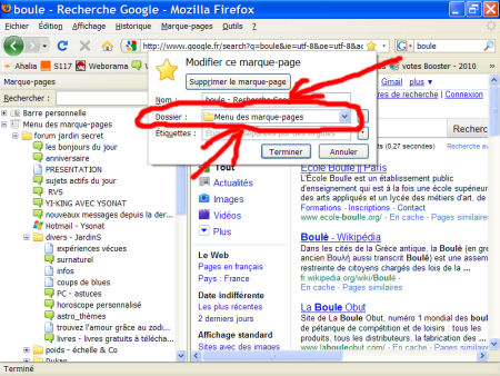 marques-pages (favoris) - FireFox 1007290601071135316481791