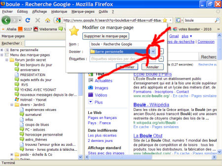 marques-pages (favoris) - FireFox 1007290601091135316481792