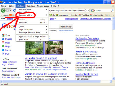 marques-pages (favoris) - FireFox 1007290601191135316481796