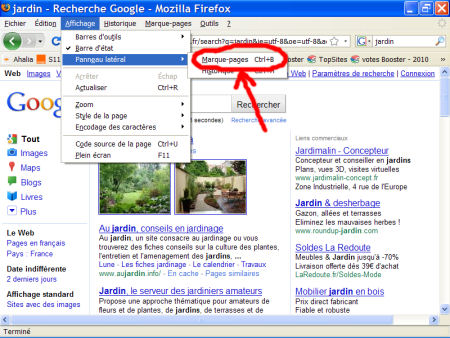 marques-pages (favoris) - FireFox 1007290601211135316481797
