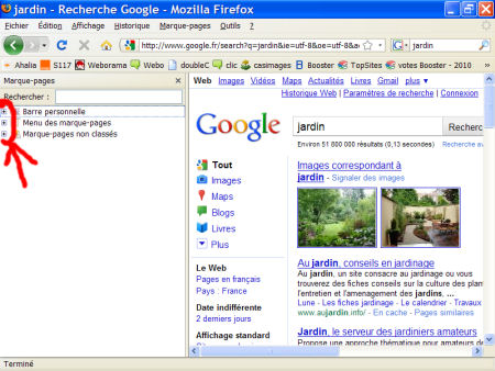 marques-pages (favoris) - FireFox 1007290601251135316481799