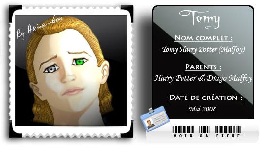 Fiche Tomy Potter (Malfoy) by Akina-bou