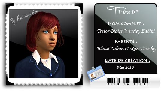 Fiche Trésor Weasley Zabini by Akina-bou