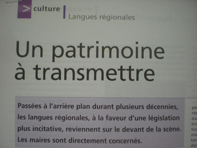 Officiële erkenning van de regionale talen in Frankrijk - Pagina 2 100801095602970736501104