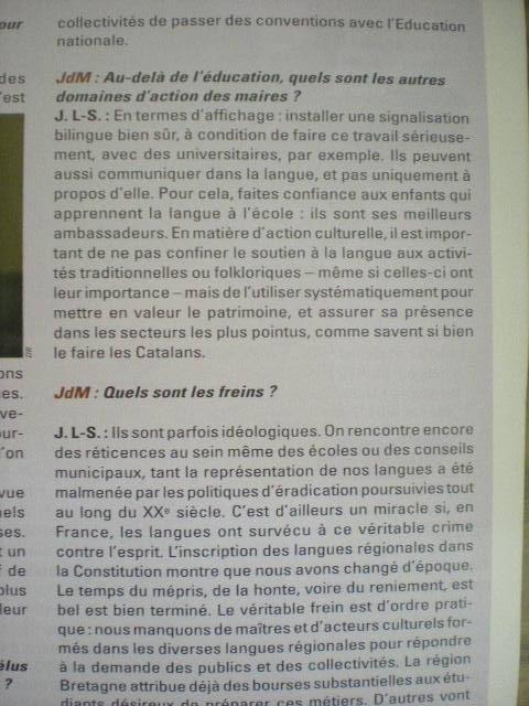 Officiële erkenning van de regionale talen in Frankrijk - Pagina 2 100802094833970736502199