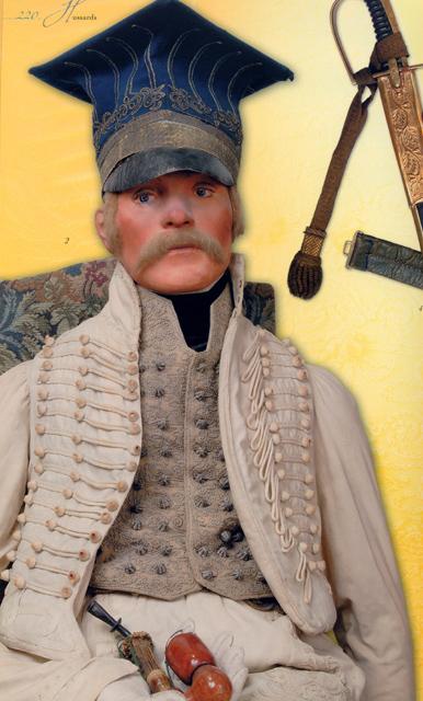 Officier de Hussard en Tenue de Nankin. (Il est fini,...enfin!) 100802111523359346507313