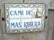 Collet de Mas Ribera - ES-B-0756 (plaque)