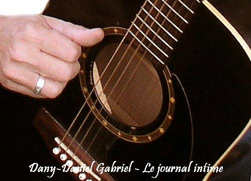 dany daniel gabriel guitare