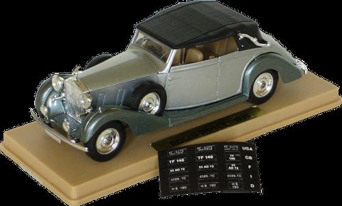 Coloris rare pour le chassis, gris métal foncé